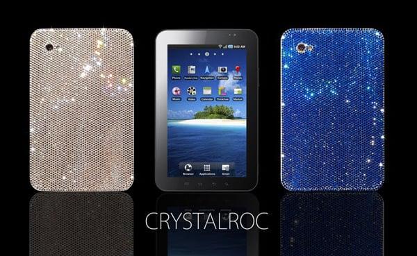 bedazzled crystalroc samsung galaxy tab