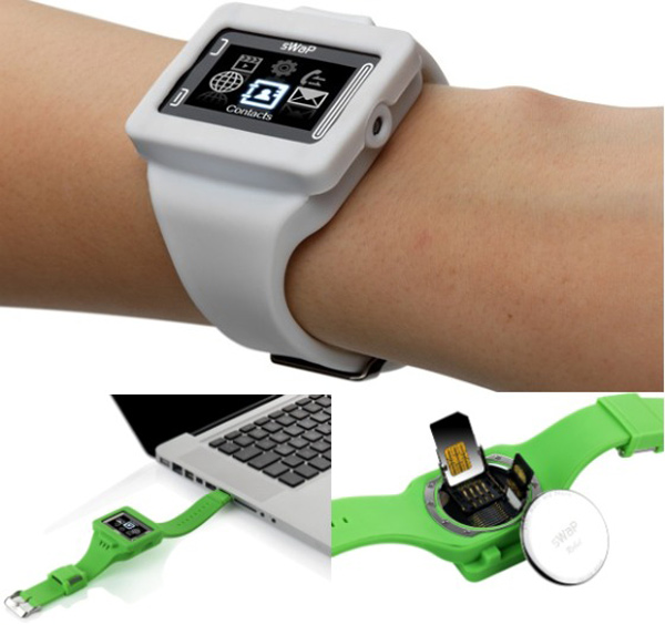 swap rebel phone watch usb