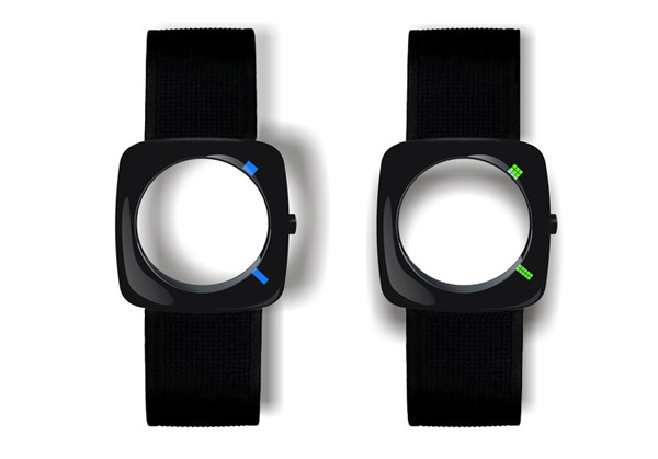 faceless yiran qian watch led