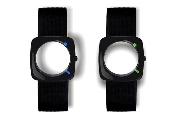 faceless yiran qian watch led