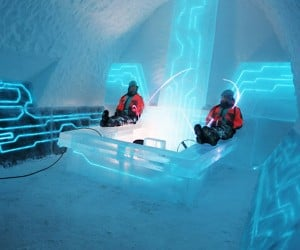 Ice Hotel Gets TRON Legacy Suite