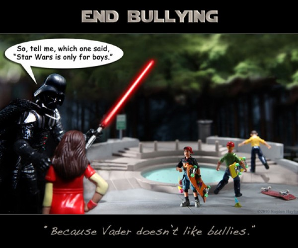 Darth Vader Will Slice and Dice Bullies