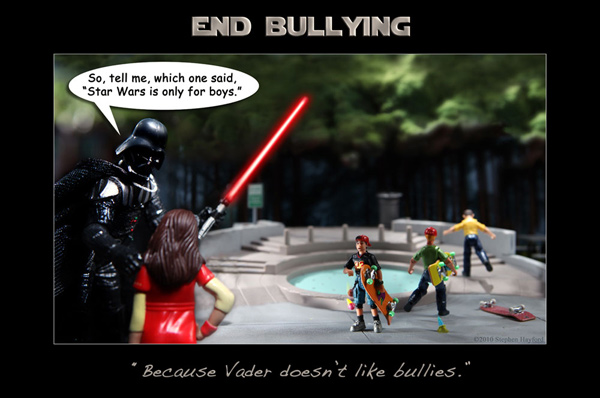 darth vader bullies katie star wars