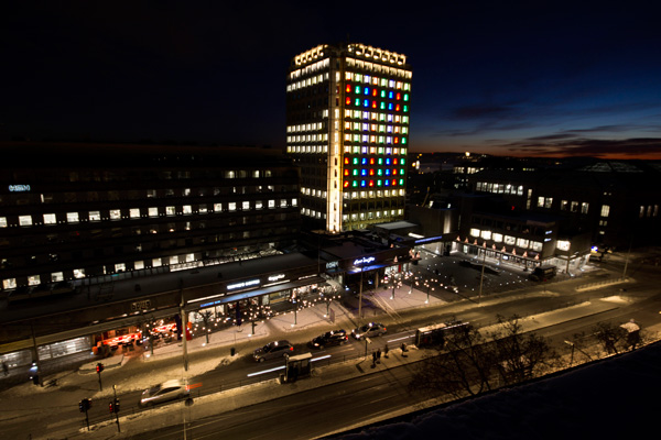 Tron Legacy Light Show Hits Oslo Technabob