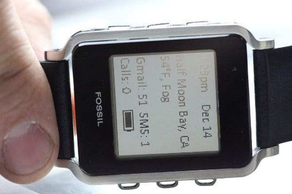 fossil watch timepiece bluetooth smartphone
