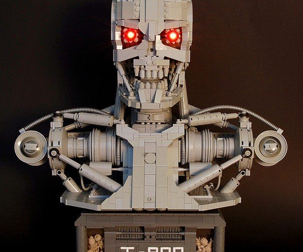 LEGO Terminator Bust: Ready to Terminate You, Brick by Brick