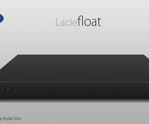 LaCie Float Concept External HDD Doubles as a Trackpad