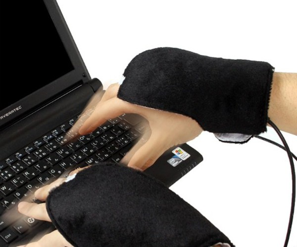Heated Ninja USB Gloves: WTF?