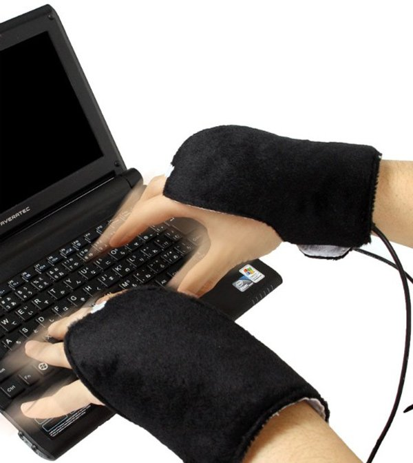ninja usb gloves thanko heat cold