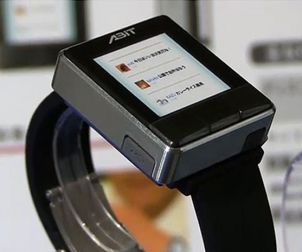 Abit PHS Wristwatch Phone Lets You Look Like a Spy