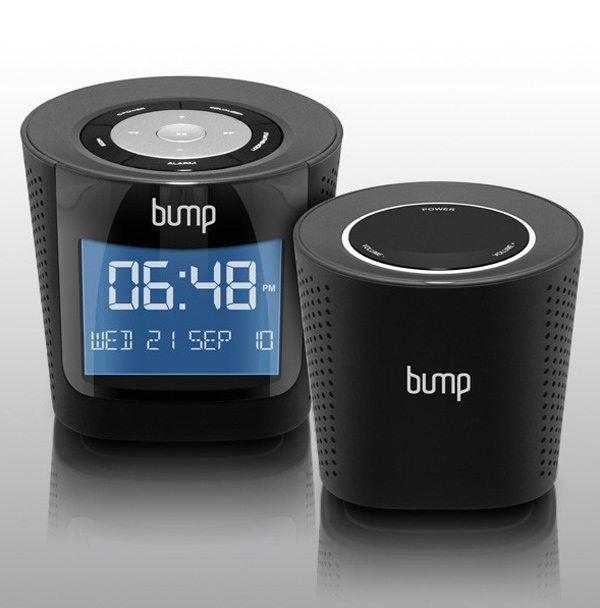 aluratek bump wireless speakers dock boombox
