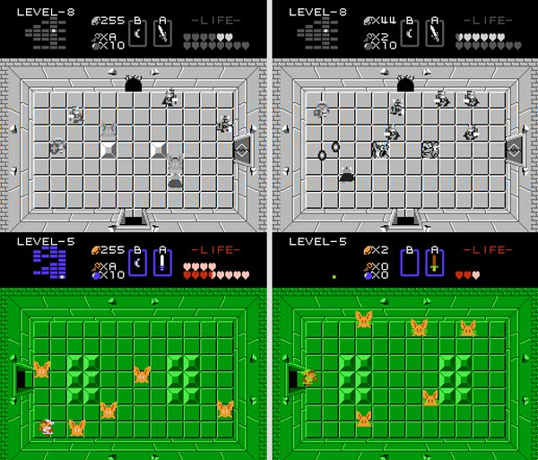 legend of zelda nes prototype games retro