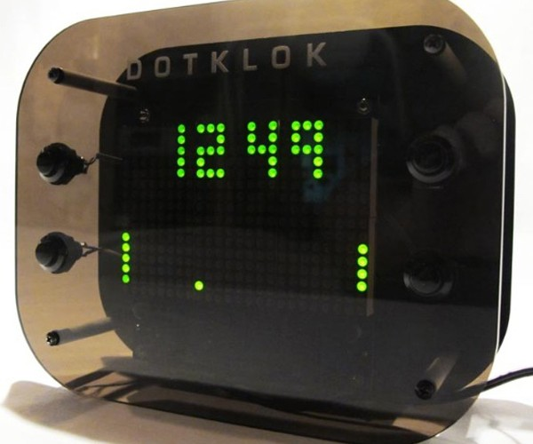 DOTKLOK: Digital Clocks Go Open Source