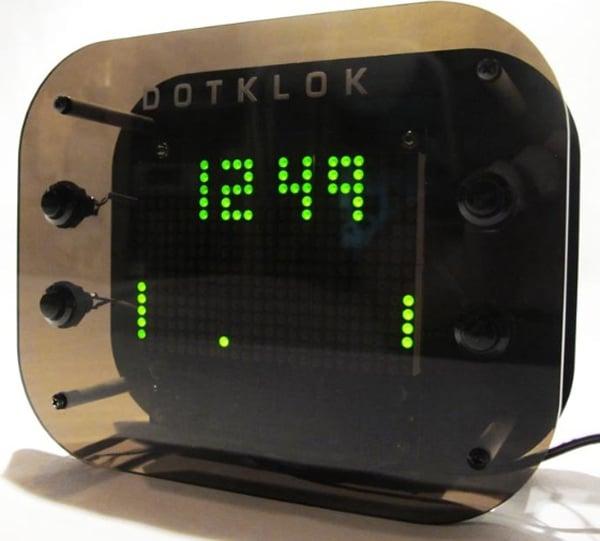 dotklok andrew o'malley diy open source digital clock
