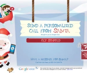 Have Santa Call Your Child, Courtesy of Google