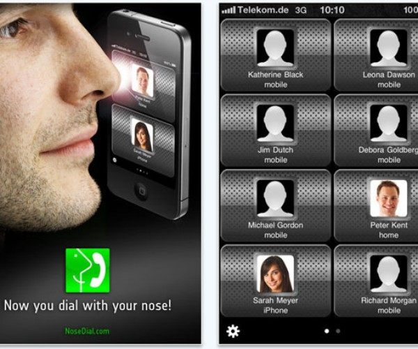 Nosedial Makes Calling From Your iPhone Nose-Friendly