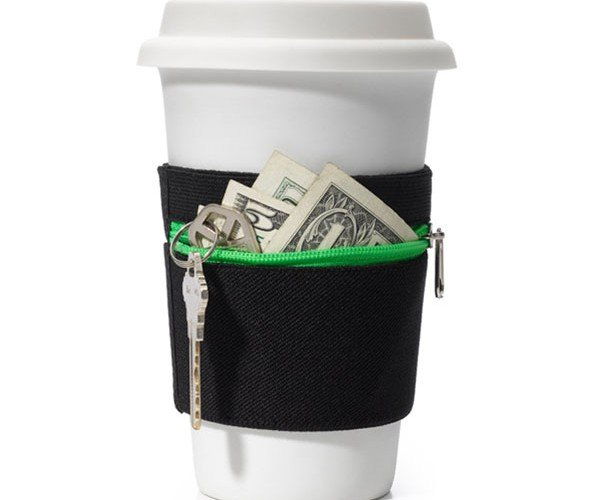 RuMe Cuff is a Stupid Wallet for Your Coffee Cup