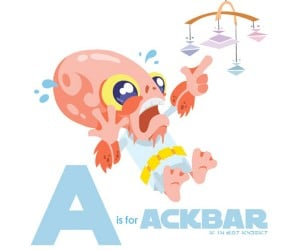 A is for Ackbar: the Star Wars Alphabet