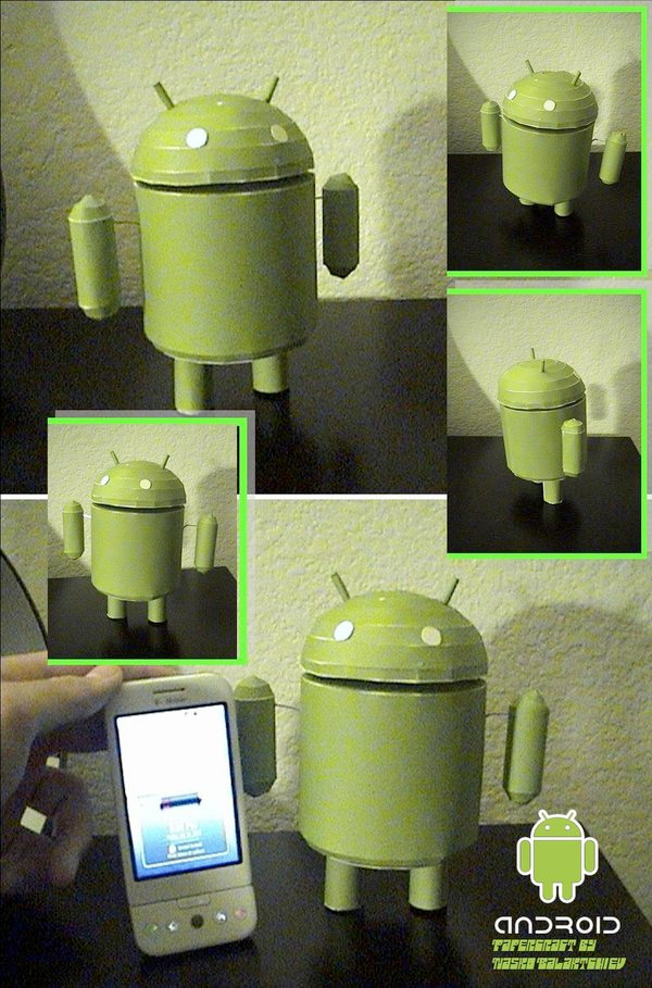 android_papercraft