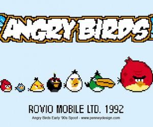 Angry Birds Go Retro