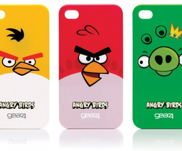 Angry Birds iPhone and iPod Touch Cases Catapult Into Your Pocket