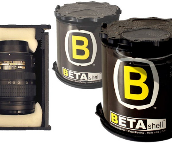BETA Shell dSLR Lens Case Protects Against the Elements and Clumsiness