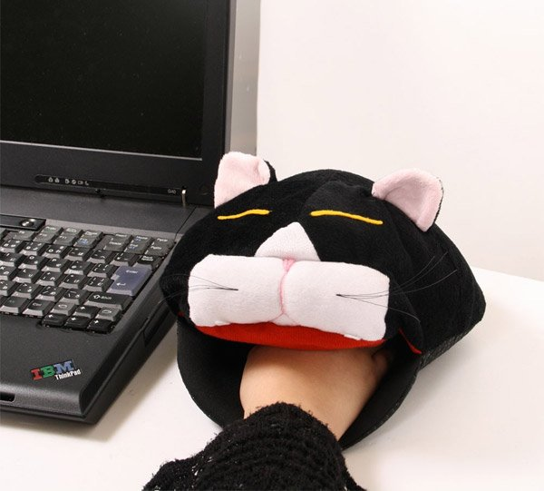 cat head mouse pad heater