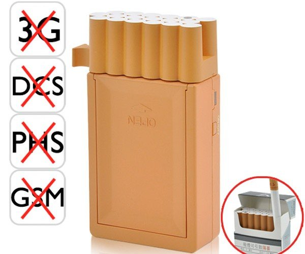 The World'S Smallest Cell Phone Jammer: Say Bye-Bye to Annoying Guests This Christmas