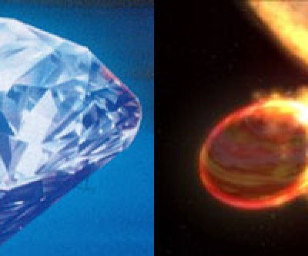 Distant Planet May be Covered With Diamonds