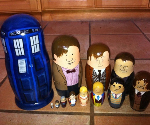 Doctor Who Nesting Dolls Make a Lot of Sense