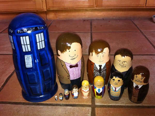 doctor who nesting dolls
