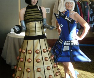 Doctor Who Dalek and Tardis Dress-Up Time