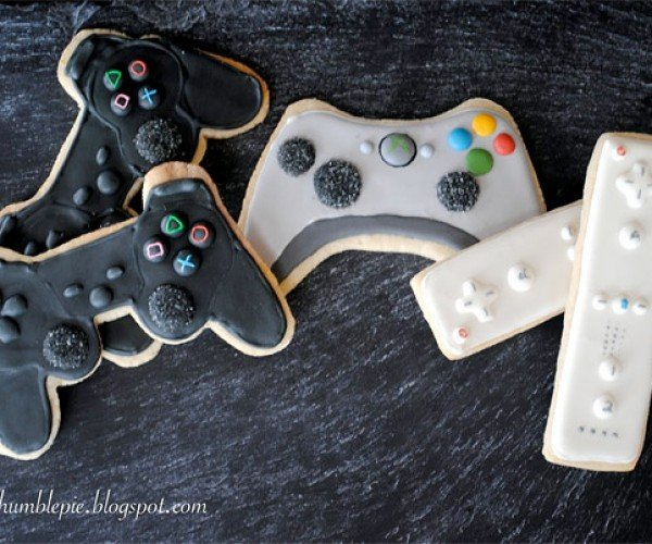 Game Controller Cookies: Eat Them Up, Yum.