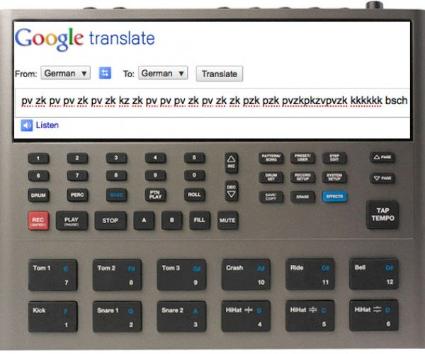 Google Translate Beatbox (Unintentional Easter Egg)