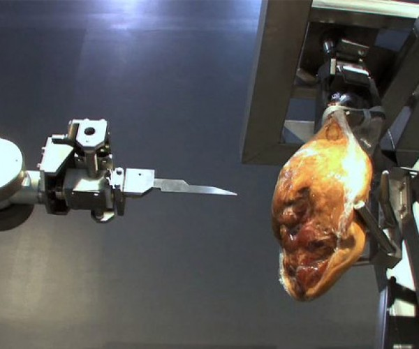Ham-Boning Robot Will Gut You Alive if You're Not Careful