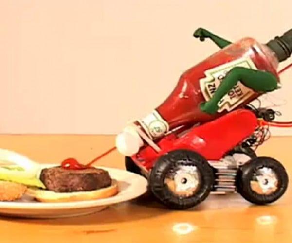 Heinz Automato57 Ketchup Robots Do Away with An-ti-ci-pa-tion