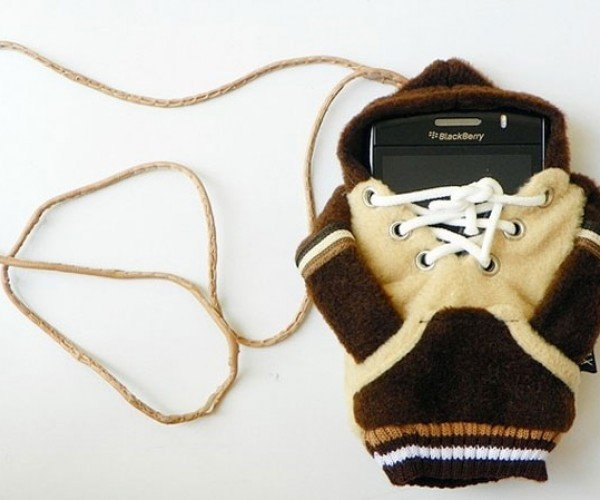 Hoodie Mobile Cell Phone Case Will Keep Your Phone Toasty