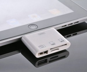 Mic Gadget 3-in-1 iPad Camera Connection Kit Adds SD Card and USB to Your Tablet