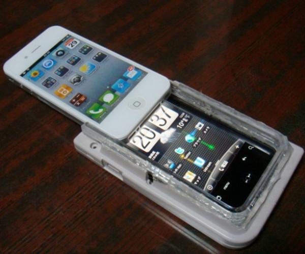 iPhone 4 + HTC Aria + Game Boy = My Brain Hurts