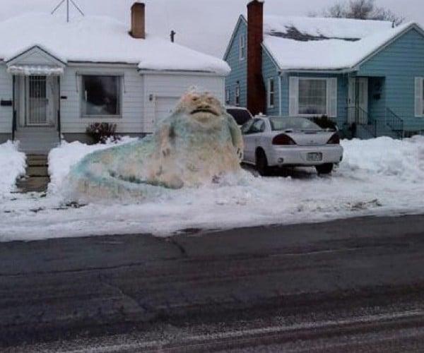 Jabba the Snowman