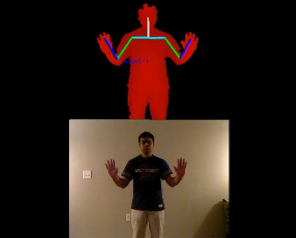 kinect copycat sign language game