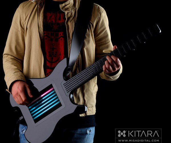 Kitara Touchscreen Guitar: Strumming Without Strings
