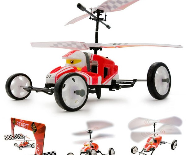 Kyosho J-Kart R/C Car Drives, then Flies