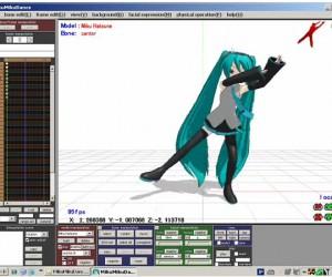 MikuMikuDance: Kinect Does Dance Mo-Cap