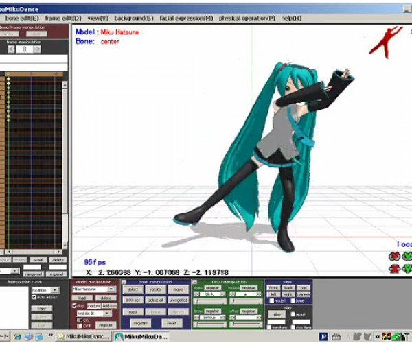 MikuMikuDance: Kinect Does Dance Mo-Cap