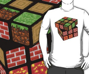 Mine Cube T-Shirt: I Bet the Sixth Tile is a Creeper