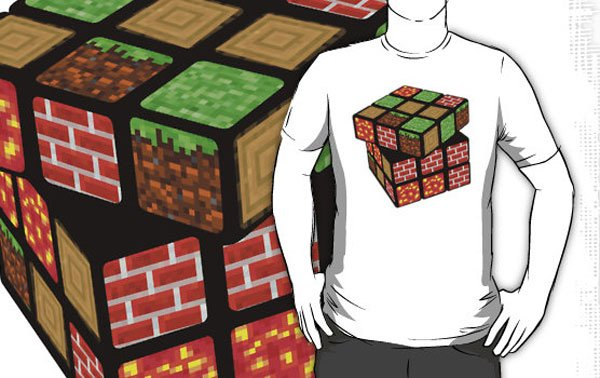 mine cube t-shirt