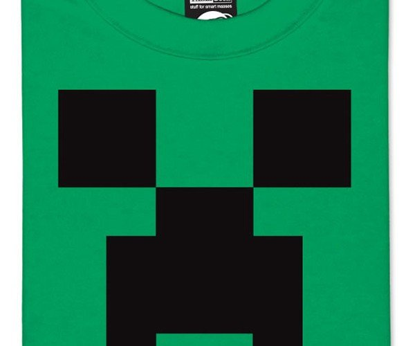Official Minecraft Shirts Crafted