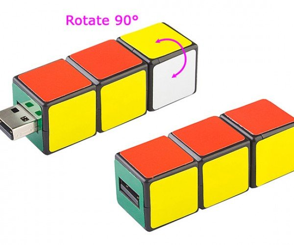 Mini IQ Cube Flash Drive is the Easiest Rubik's Cube Ever