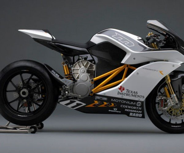 Mission Motors Shows Off Fast and Awesome Electric Mission R Motorcycle